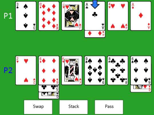 Swap Poker Screenshot